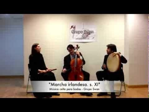 """www.gruposwan.com  Música para bodas - """"Marcha irlandesa"""" - Música celta para bodas -Grupo Swan"""