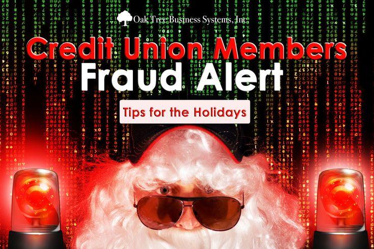 Credit union members fraud alert tips credit union