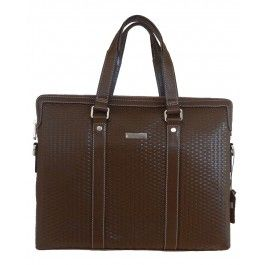 Men's brown genuine leather business laptop bag | Free Shipping| Fabhere.com.au