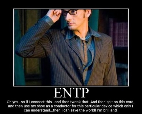 Welcome to my thought process for even the most simplistic of problems. ENTP