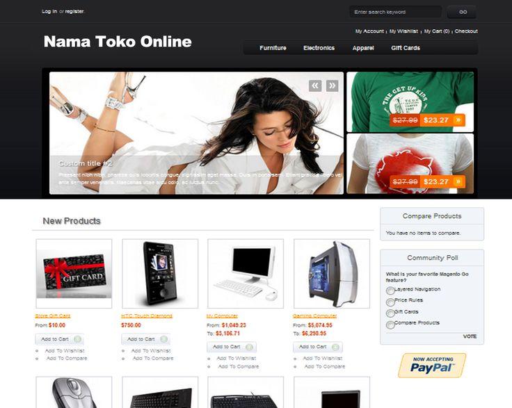 Jasa Pembuatan Website Toko Online / Website Online Shop