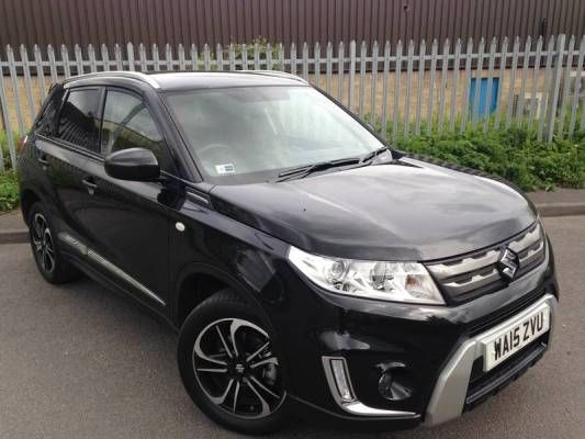 Used 2015 (15 reg) Black Suzuki Vitara 1.6 SZ-T 5dr for sale on RAC Cars