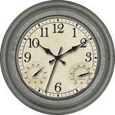 "Found it at Wayfair - 16"" Indoor / Outdoor Wall Clock"