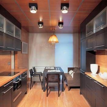 Дизайн интерьера кухни 12 кв. м: фото новинок 2016 и планировоки