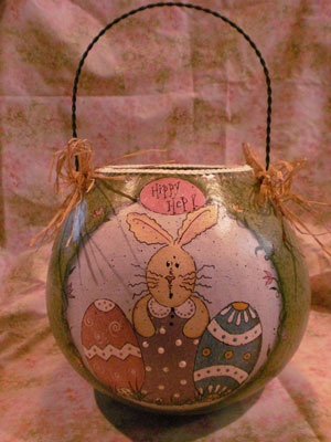 Hippy Hop Easter Basket by Wendy Young