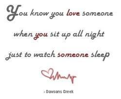 dawson's creek quote // yeah it's kinda true love <3