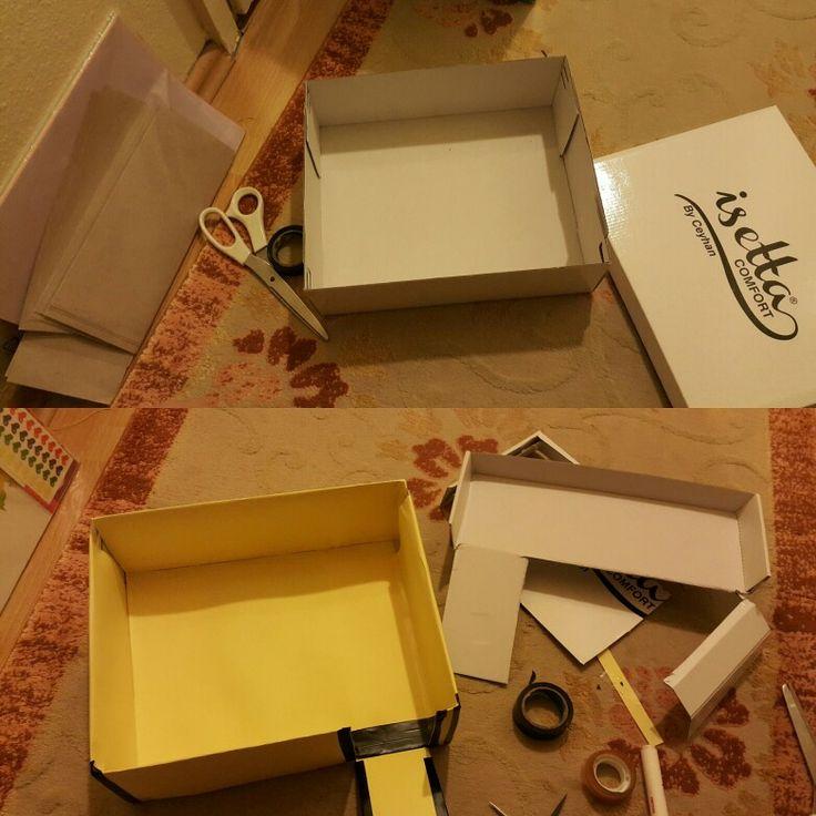 Biraz bant biraz kağıt bir de ayakkabı kutusu
