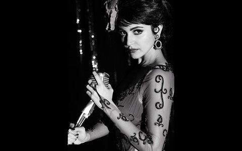 Anushka Sharma in new look in Bombay Velvet movie Wallpapers at Hdwallpapersz.net