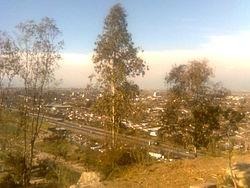 San Bernardo desde el Cerro Chena