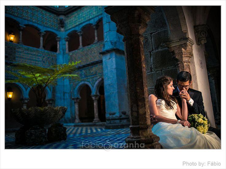 Destination wedding in Pena Palace @Sintra, Portugal  #destinationwedding #sintra #portugal #palaciodapena #Penapalace #bride #groom #love #wedding