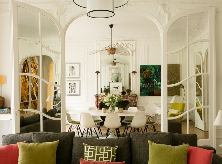 More interior inspiration on home for Decoration interieur paris