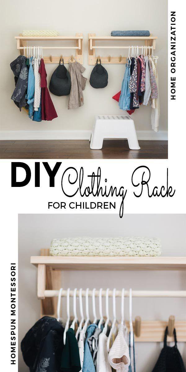 Diy Clothing Rack With Shelf Diy Clothes Rack Wall Mounted Clothing Rack Clothing Rack