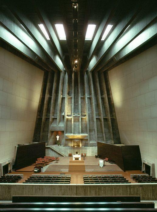 Saint francis de sales church marcel breuer architect muskegon michigan - Marcel breuer architecture ...
