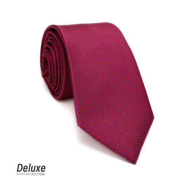 Italian Silk Tie in Exclusive Red