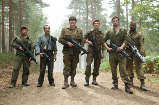 The Howling Commandos. Loved that they were mentioned in Winter Soldier!