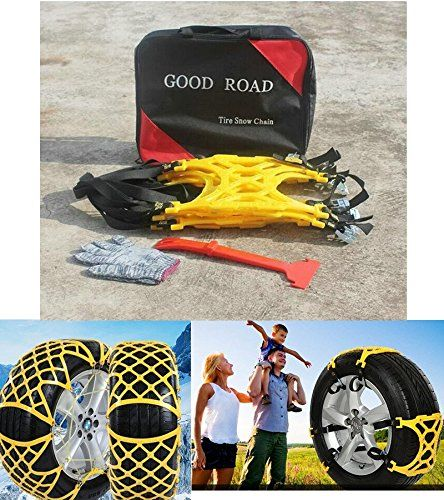 Bentolin 2016 Anti Slip Chain/tire Chains of Car,SUV, Snow Tire Chains, Fully Enclosed Universal Emergency Pure Tendon Thickening Anti-skid Chains(set of 6),give Snow Shovel, Glove. For product info go to:  https://www.caraccessoriesonlinemarket.com/bentolin-2016-anti-slip-chaintire-chains-of-carsuv-snow-tire-chains-fully-enclosed-universal-emergency-pure-tendon-thickening-anti-skid-chainsset-of-6give-snow-shovel-glove/