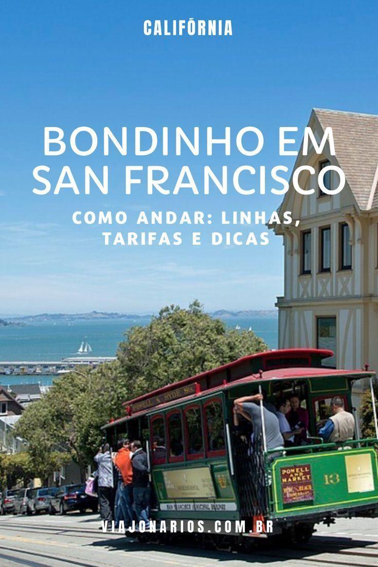California Como Andar De Bondinho Em San Francisco San Francisco