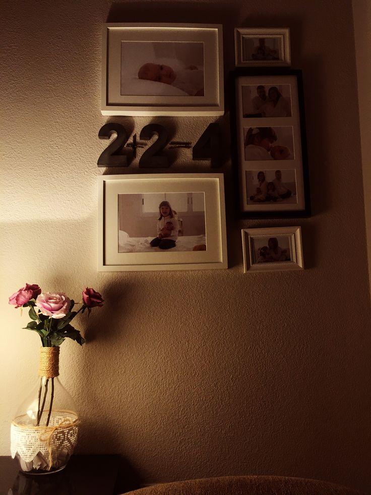 Rincon de fotos./Fotos familia./conjunto de Marcos. Family photo book