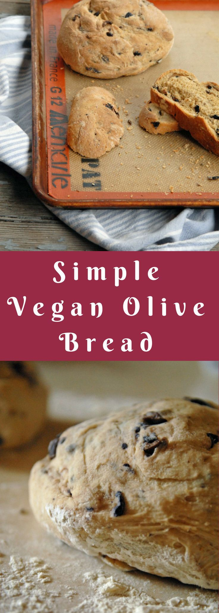 With a few hours and a little bit of kneading, this olive bread comes to life in little more than an afternoon.