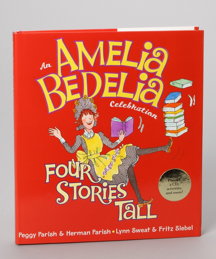 When my kids were little, they LOVED LOVED LOVED Amelia Bedelia books!