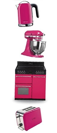 Belling Classic 90 Range Cooker In Floral Burst Pink Part Of The Colour Pink Kitchenssmall Kitchensappliance