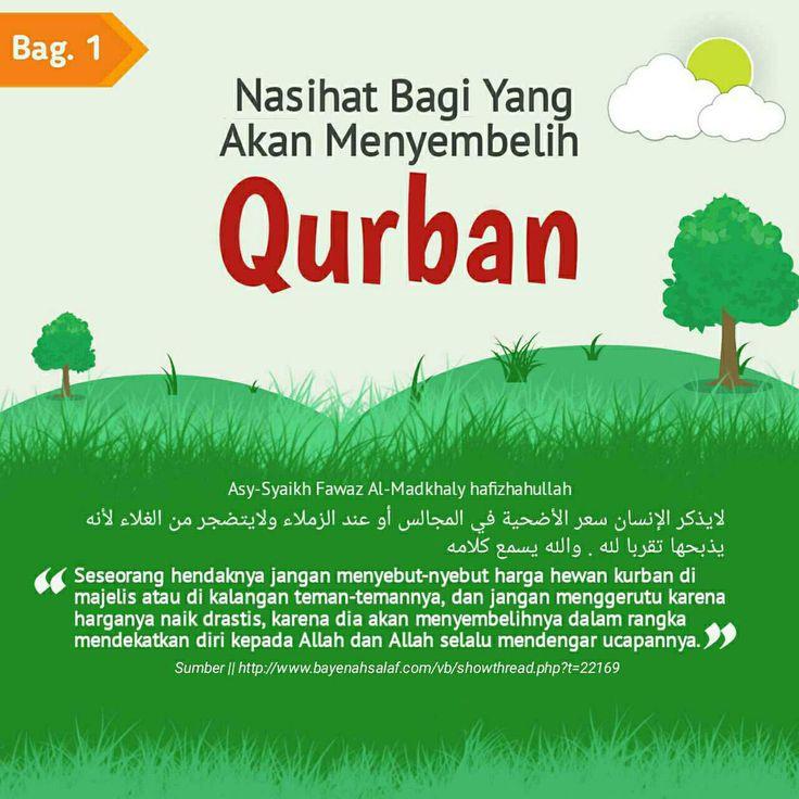 Follow @NasihatSahabatCom http://nasihatsahabat.com #nasihatsahabat #mutiarasunnah #motivasiIslami #petuahulama #hadist #hadits #nasihatulama #fatwaulama #akhlak #akhlaq #sunnah  #aqidah #akidah #salafiyah #Muslimah #adabIslami #DakwahSalaf # #ManhajSalaf #Alhaq #Kajiansalaf  #dakwahsunnah #Islam #ahlussunnah  #sunnah #tauhid #dakwahtauhid #alquran #kajiansunnah #salafy #qurban #kurban #korban #nasihatbagiyangmenyembelihkurban #janganmenggerutuharganaikdrastis #jangansebuthargamahal