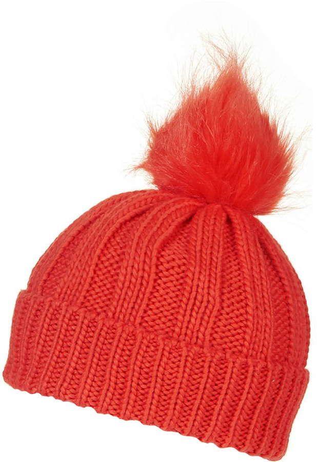 bd92e6e201d ... top quality faux fur pom beanie hat baby c0e47 d522c