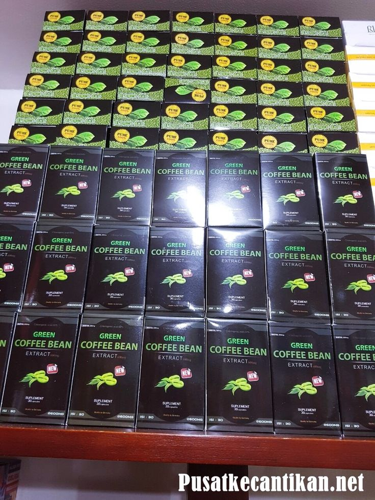 Jual Green Coffee Bean Ekstrak Suplemen Pelangsing