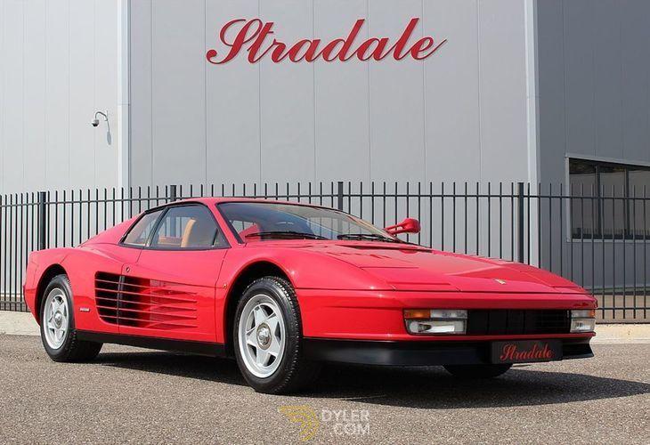 Ferrari Testarossa Monospecchio Monodado Coupe 1986 Red Monospecchio Monodado Car For Sale 73277 Ferrari Classic Cars Ferrari Testarossa