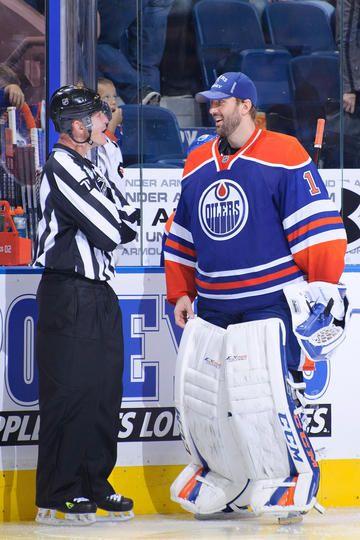 Edmonton Oilers #1 Jason LaBarbara