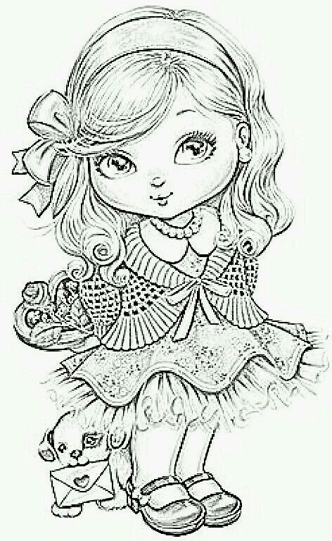 Pin by Martine Grenier on peinados chic   Coloring pages ...