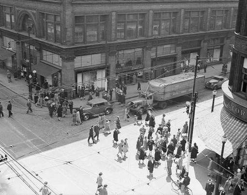 Yonge and Queen Street, Toronto - Simpson's Department Store
