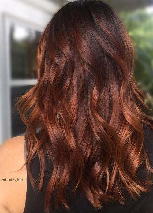 100 dunkle Haarfarben für den Winter  Rot Braun Dunkelblond
