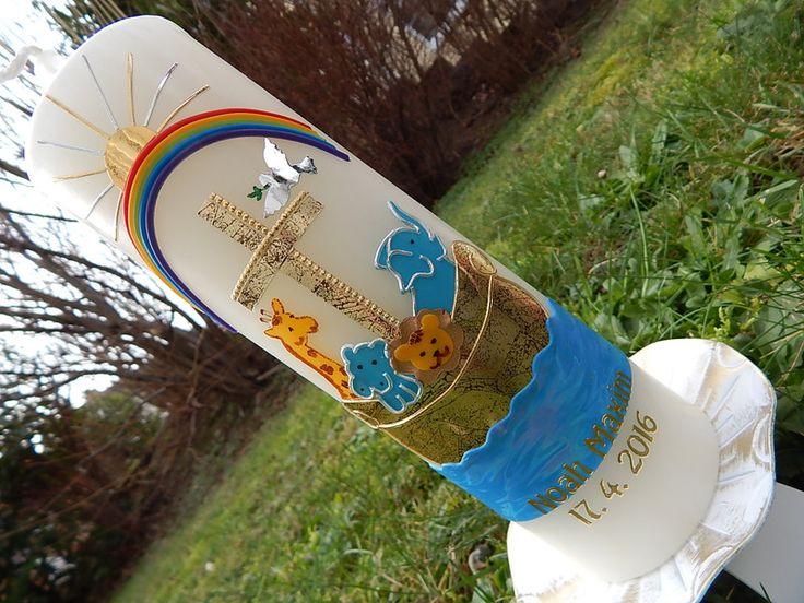 Taufkerzen - Taufkerze - ein Designerstück von Lenz-Kerzen bei DaWanda