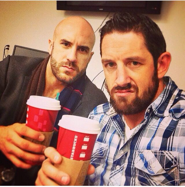 Cesaro and Wade Barrett