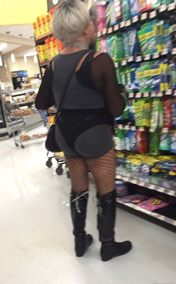 Grandma Candy at Walmart - Funny Pictures at Walmart ...