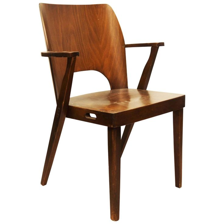 stacking chair by otto niedermoser