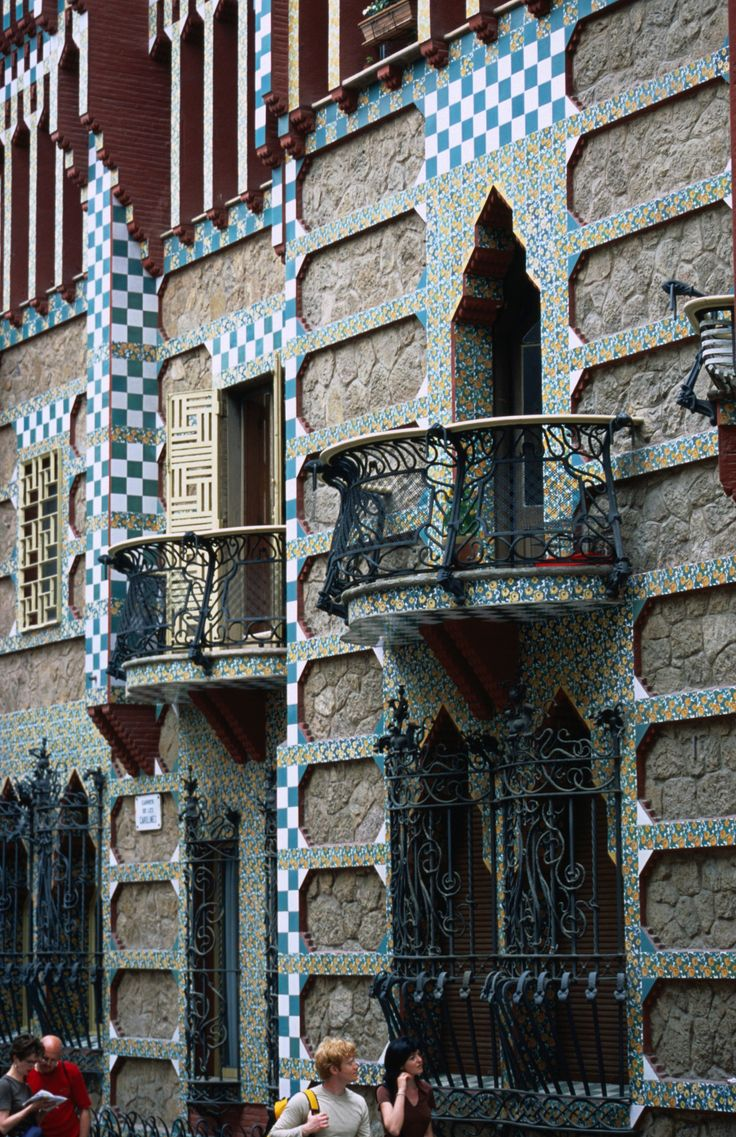 Casa Vincenc. Barcelona, Catalonia #catalonia #catalunya #cataloniamybarcelona #cataloniamycatalunya #artnouveau