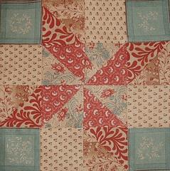 Beautiful Civil War quilt block                                                                                                                                                      More