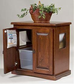 Hidy Tidy Litter Box Furniture - Patented Pan Edge Design
