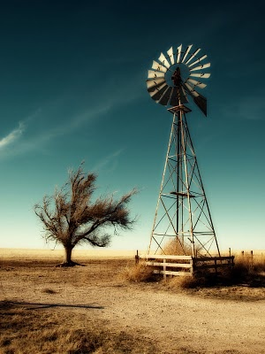 ~ love windmills and blue sky