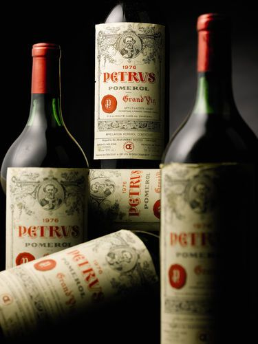 Don't cry over spilled Chateau Petrus...as long as it lands in your belly.