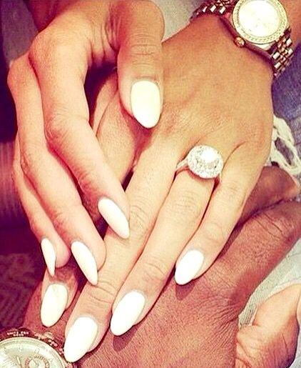 1000 id es sur le th me ongles en amande sur pinterest ongles ongles en pointe et ongles en gel - Ongle en gel amande ...