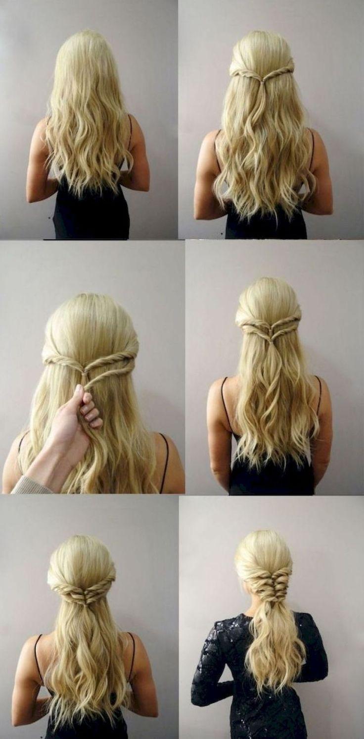 29 Fünf Minuten wunderschöne und einfache Frisur…
