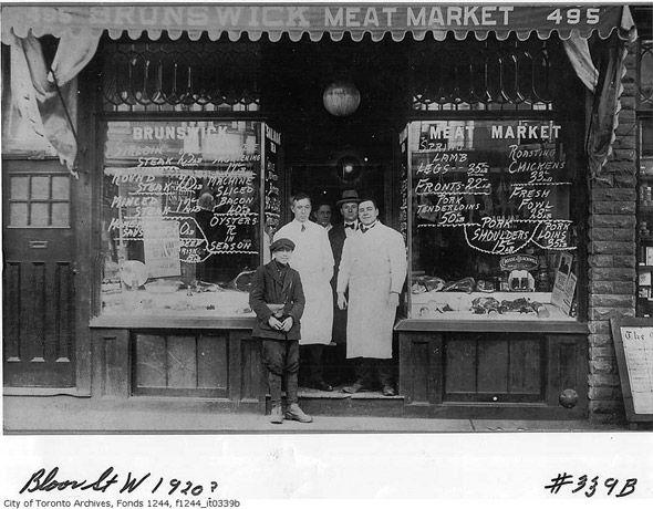 1920's Toronto Grocery Store. #Toronto #History #Vintage