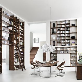 Cubus Bookcase - Amazing contemporary bookcase shelf system in solid wood. Team7 produce truly amazing innovative and highly engineered furniture.Houzz.com