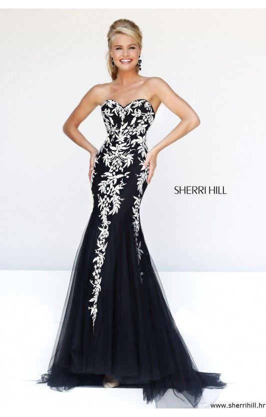 24 best images about dress on Pinterest | Lace gowns, Sherri hill ...