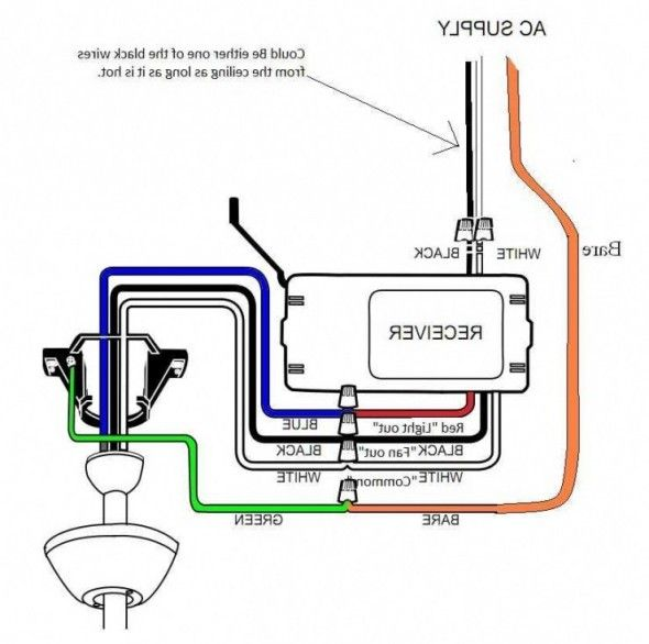 harbor breeze ceiling fan with remote wiring diagram
