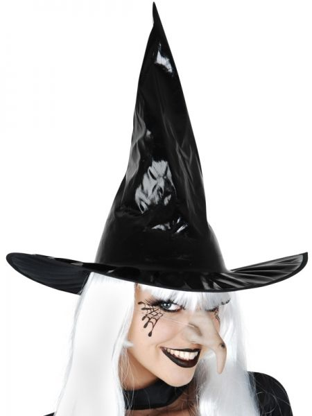 Let's Party With Balloons - Dr Tom's Black PVC Witches Hat, $10.00 (http://www.letspartywithballoons.com.au/dr-toms-black-pvc-witches-hat/)