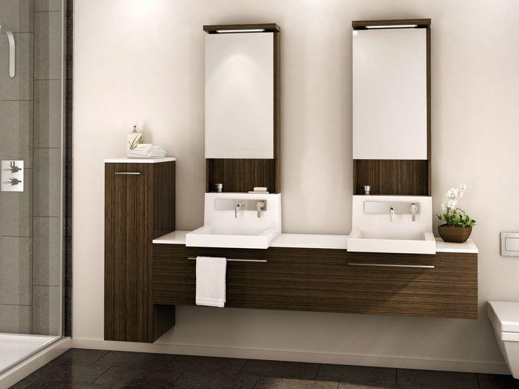1000 id es sur le th me vanit moderne sur pinterest for Armoire de salle de bain moderne